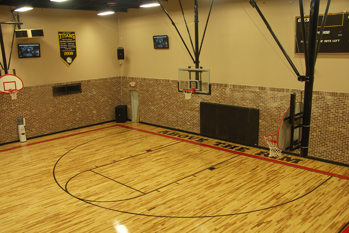 Aacer Sports Flooring Scores Above The Rim Basketball Gym