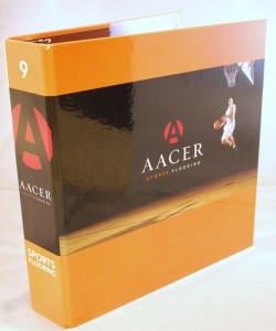 Aacer Sport Flooring Releases Newest Architectural Binders